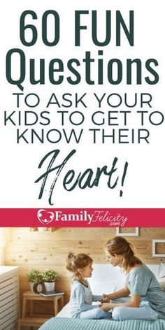 Kids Discover 60 Fun Questions to Ask Your Kids to Get Them to Open Up and Share Their Heart These fun questions to ask kids will get your children talking and sharing with you! Get closer with your kids through these questions. Gentle Parenting, Parenting Advice, Kids And Parenting, Parenting Classes, Peaceful Parenting, Parenting Quotes, Parenting Styles, Beste Mama, Education Positive