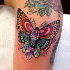 Butterfly Tattoo by Roberto Euan ideen bunt Butterfly Tattoos - Tattoo Insider Bad Tattoos, Girly Tattoos, Pretty Tattoos, Love Tattoos, Beautiful Tattoos, Body Art Tattoos, Small Tattoos, Tattoos For Women, Tatoos