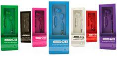 Coloud Colors C19M In-Ear Headphones - Packaging