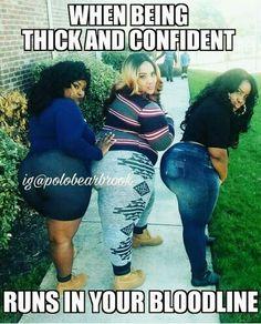 Thick big chic posing