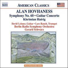 David Leisner - Hovhaness: Symphony No. 60, Guitar Concerto