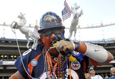 DO wear two killer Bronco statues on your shoulders.