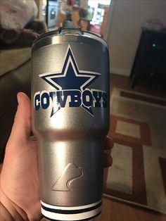 Last One This Year Blue White Dallas Cowboys 30oz Rtic