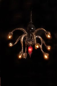 Medusa chandelier. Courtesy of Adam Wallacavage.
