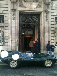 The RAC Club, London.