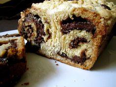 Yeasted Meringue Chocolate Cinnamon Coffee Cake