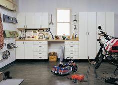 idées de meuble de rangement pour garage