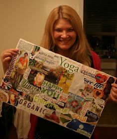 "How To: Create  Vision Board of Your Dreams  http://thenewnew.blogspot.com/2011/02/how-to-create-vision-board-of-your.html  Posted by Louise Gale ""Dream-Inspire-Create"" at 8:00 AM   Button: ShareThis  Labels: 2011, dreams, goals, how-to, law of attraction, vision boards"