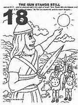 joshua chapter 10 coloring pages | peter and john heal the lame man activities - Google ...