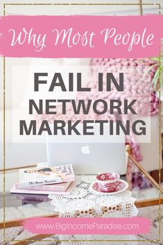 Here are 7 huge reasons why most people fail in their Network Marketing business. If you want to be successful in your network marketing company then you should avoid these 7 big mistakes. Check out these network marketing tips. To have network marketing success, you need to avoid these mistakes. Learn how to build your network marketing business the right way. #BigIncomeParadise #NetworkMarketingTips #NetworkMarketing #GrowYourBusiness
