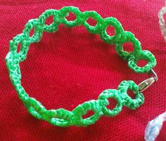 President's Friendship Bracelet by moiracrochetsplarn, via Flickr