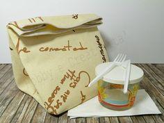 Porta pranzo fai da te | progetto cucito | Hobby e Creativita' | #thecreativefactory #handmadebacktoschool