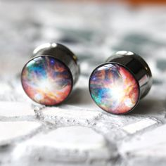 Hey, I found this really awesome Etsy listing at http://www.etsy.com/listing/125898806/nebula-plugs-space-ear-gauges-nerdy-ear