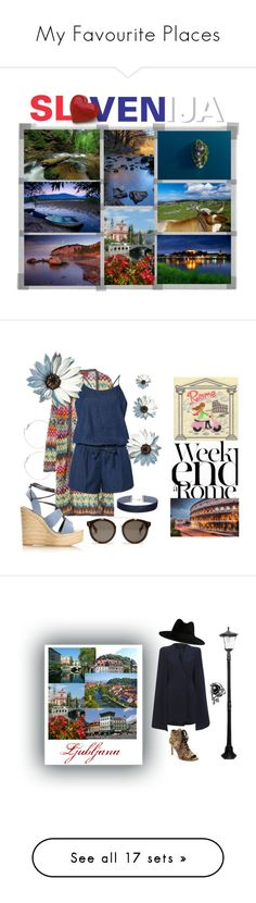 """""""My Favourite Places"""" by cordelia-fortuna ❤ liked on Polyvore featuring art, country, Missoni, Dorothy Perkins, Yves Saint Laurent, STELLA McCARTNEY, Miss Selfridge, Lara, Lavish Alice and Paradise Garden Lighting"""