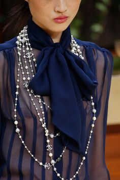 Rose-Style, velvetrunway: Chanel   FW15   posted by...