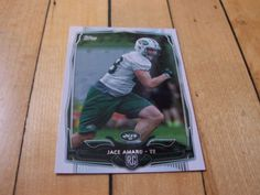 2014-Topps-439-JACE-AMARO-RC-Rookie-Card-New-York-Jets-Texas-Tech-Red-Raiders