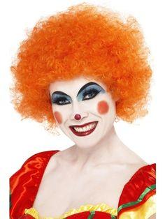 Peruka Clowna w kolorze pomarańczowym. Doskonała nie tylko dla profesjonalnych klaunów, ale również dla tych, którzy przez chwilę chcą wnieść odrobinę uśmiechu i radości w swoje życie :)