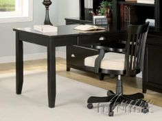 "Kennedy Solid Wood Office Desk by Acme Furniture by Acme Furniture. $453.27. Contemporary Style. ""Smooth, Sleek and Durable Design Furniture"". Black Finish. This Home Office Collection is crafted with the finest solid woods with veneers in black finish. This group of furniture is enhanced by its Black finish with its contemporary look furniture. Made from wood solids and veneers. Durable construction. Dimensions:""72"""" x 32"""" x 30""""H"" Some assembly may be required. Please s..."