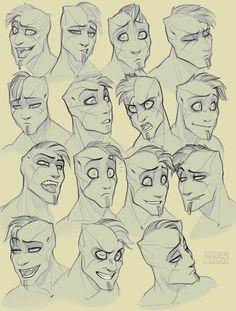 Facial gestures