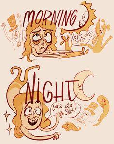 Marlo Meekins - Day vs. Night