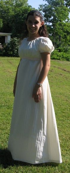 Regency Drawstring Gown | Sense & Sensibility Patterns