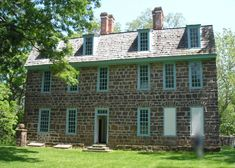 This historic home was built in 1722 for William Keith, who was colonial Deputy Governor of Pennsylvania (for the then absent Penn family) from 1717 to 1726.