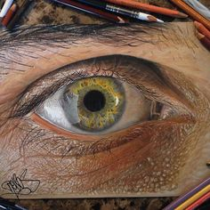Stunning Hyper-Realistic Eyes Created Using Colored Pencils - My Modern Metropolis