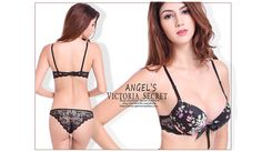 3acf719806 Aliexpress.com   Buy Shitagi France Lady Sexy Bra Set Lace Foral Plunge Bra  And Transparent Panty V neck Padded Push Up Lingerie Women Underwear Set  from ...