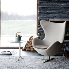 Danish design icon by Arne Jacobsen, the Egg Chair
