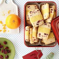 Layers of holiday flavors combine in one buttery cookie that will go quickly on a Christmas cookie tray.