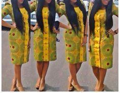 African Ankara Soyah Dress  by MsAlaba on Etsy