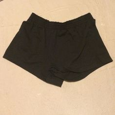 Size S Black Soffe Shorts Don't know how I came to possess these as I am not a size small, but I hear that Soffees are super comfy and these are in pristine condition  low rise Soffe Shorts