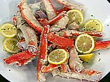 Drunken Alaskan King Crab Legs. Try a Blue Moon for the ale in the recipe, it will give the crab legs awesome flavor!