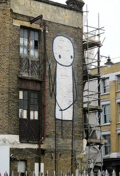 LONDON | ENGLAND: *Artist: Stik*