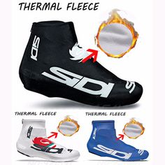 2016 Winter Fleece Thermal Bicycle Cycling Overshoes MTB Bike Cycling Shoes Cover Sports ShoeCover Pro Road Racing Man/Women