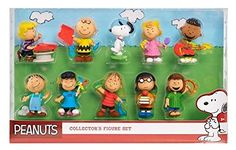 The Peanuts gang is all here! Get all the characters in 1 set. Perfect for the collector or the new Peanuts fan. The figures are on average 3' tall in their iconic poses. 10 figures included: Snoopy ...