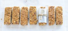 Chocolate Chip Muesli Bars - One Handed Cooks
