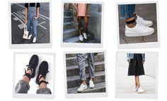 6 manieren om sneakers te dragen how to