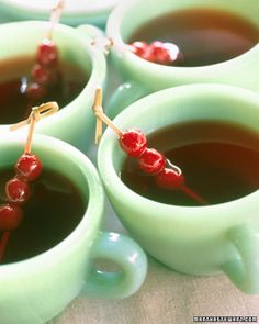 Mulled Cranberry Cocktail recipe