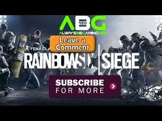 Just posted! Rainbow 6 Siege - Warming Up Shotgun Challenges And More https://youtube.com/watch?v=-4UZAlFdgiI