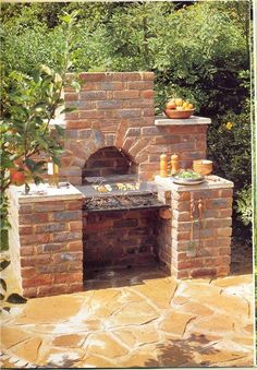 Read Alan Bridgewater's book Brickwork Projects for Patio & Garden: Designs, Instructions and 16 Easy-to-Build Projects (Creative Homeowner). Published on by Creative Homeowner. Brick Bbq, Brick Path, Pizza Oven Outdoor, Outside Living, Garden Features, Brickwork, Outdoor Fire, Back Gardens, Outdoor Rooms