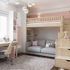 dream rooms for adults bedrooms * dream rooms ; dream rooms for adults ; dream rooms for women ; dream rooms for couples ; dream rooms for adults bedrooms ; dream rooms for girls teenagers Cute Bedroom Ideas, Girl Bedroom Designs, Room Ideas Bedroom, Small Room Bedroom, Bedroom Loft, Awesome Bedrooms, Dream Bedroom, Bed Ideas, Loft Beds For Small Rooms
