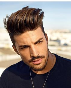 "10.3 mil Me gusta, 26 comentarios - Best Men's Hairstyles and Cuts (@menshairs) en Instagram: ""Use #menshairs @marianodivaio ✂✨"""