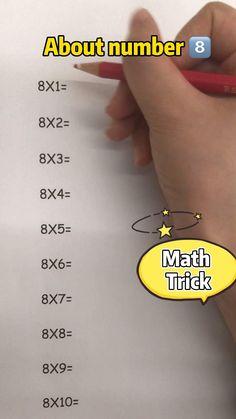 Math Strategies, Math Resources, Math Activities, Math Tips, Life Hacks For School, School Study Tips, School Tips, Math For Kids, Fun Math