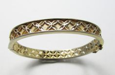 Vintage 1960s Signed Trifari Gold Toned Pierced by GildedTrifles