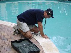 Looking to repair your pool? We offer Swimming Pool Repair Service in Sarasota County & Bradenton FL. Swimming Pool Repair, Small Swimming Pools, Swimming Pool Designs, Outdoor Swimming Pool, Indoor Pools, Pool Maintenance Cost, Pool Paint, Beach Entry Pool, Rectangular Pool
