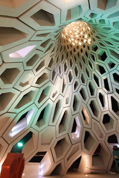 It's like a TARDIS interior! http://www.detail-online.com/daily/wp-content/uploads/2013/04/01-interior-view.jpg