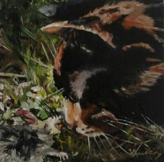 Post Mortem Year of the Cat original oil painting by MyCoveArt Bald Eagle, Paintings, Oil, The Originals, Cats, Animals, Vintage, Gatos, Animales