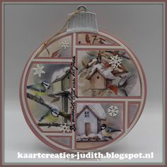 Patchwork Cards, Layout, Christmas Cards, Christmas Ornaments, Marianne Design, Card Making, Mirror, Handmade, Tambour