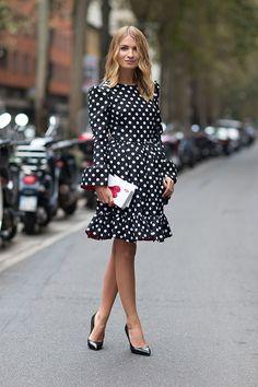 Street Style: Milan Fashion Week Spring 2014 // because Italians do it better